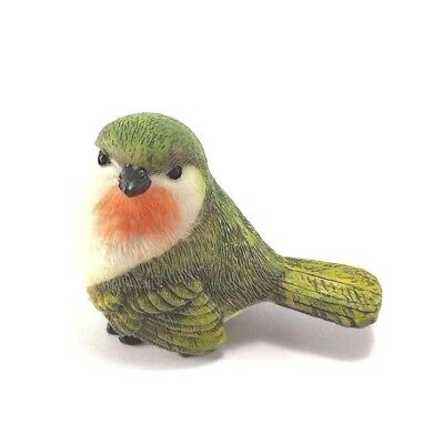 Robin Bird Resin Figurine Miniatures Animal Dollhouse Home Garden Office Decor
