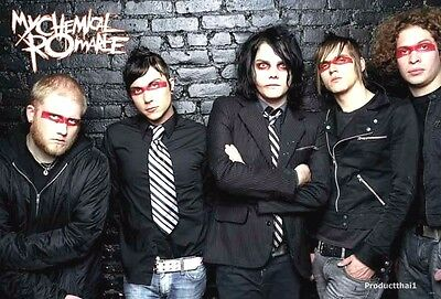"""J-4319 MY CHEMICAL ROMANCE THE POSTER 24""""x36"""" MUSIC ROCK CONCERT NEW SIDE SHEET"""