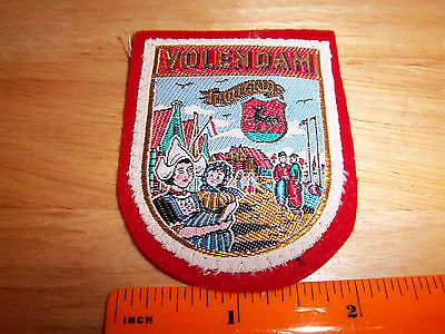 Volendam, The Netherlands, Holland beautiful woven style Patch, colorful
