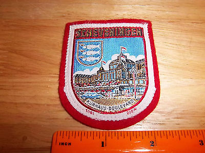 Scheveningen, The Netherlands, Holland beautiful woven style Patch, colorful