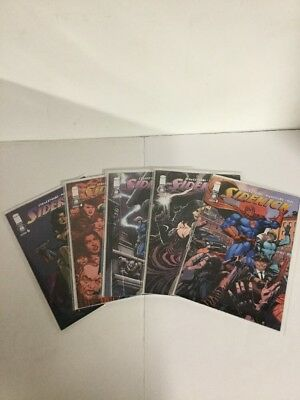 Sidekick 1 2 3 4 6 Lot Set Run Nm Near Mint Image Comics