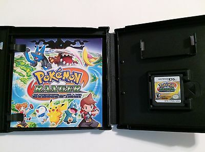 Pokemon Ranger Shadows of Almia Nintendo DS DSi 3DS 2DS 2E with Case & Manual