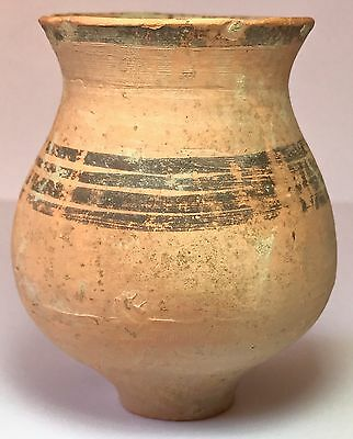 Egyptian Coptic Christian Pottery Urn 500 A.D.
