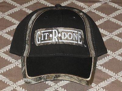 Git R Done Larry the Cable Guy Camo Hat