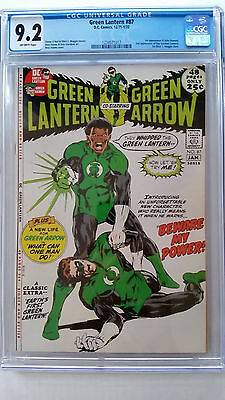 Green Lantern #87 CGC 9.2 NM-   1st Appearance John Stewart 2nd App Guy Gardner