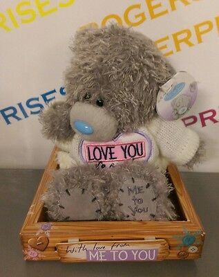 With Love From Me To You Tatty Teddy Bear in Love You So Much Sweater NEW Boxed