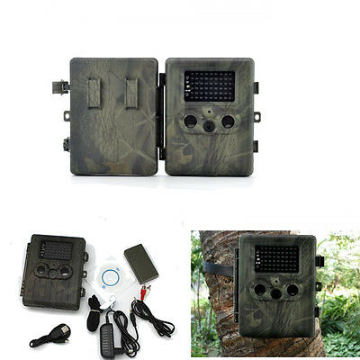 HT-002LIG Infrared Trail Hunting Camera 1080P HD GSM MMS GPRS SMS Scouting Game