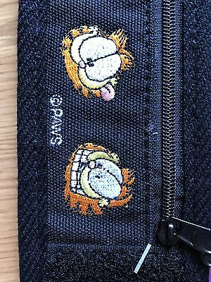 Vintage Garfield Wrist Wallet by Mead with Zipper, NEW!