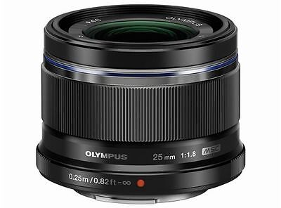 Olympus M.ZUIKO DIGITAL 25mm F1.8 Lens Black  Japan Domestic Version New