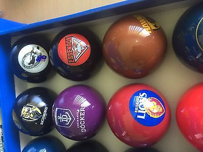 Afl Single Pool Ball - All Teams Available - Or Cue & 8-Ball