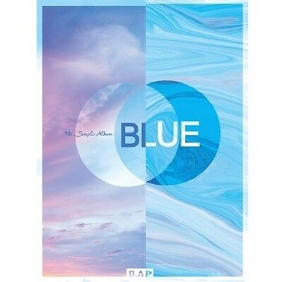 B.A.P-[Blue]7th Single Album 2 Ver SET CD+Booklet+PhotoCard+Gift Kpop Sealed BAP