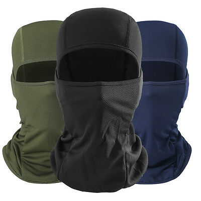 Balaclava Tactical Motorcycle Cycling Outdoor Ski Full Face Mask Helmet Unisex
