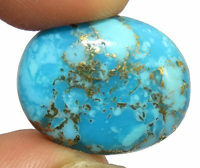 Oval Shape 13.10 Ct Excellent  Natural Copper Turquoise Gemstone. eBay