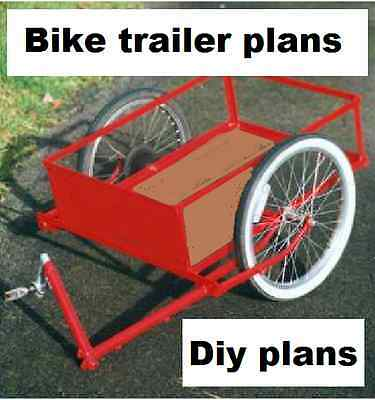 WOODWORKING OVER 1000+ PLANS , bicycle trailer Cargo kids etc dvd rom