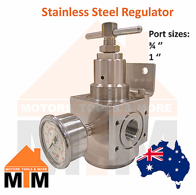 Regulator Stainless Steel for Pneumatic Systems Air Compressor Large R