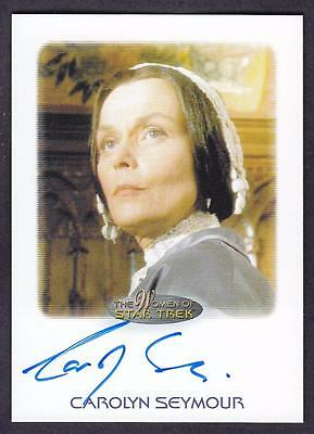 2017 Women Of Star Trek  Autograph / Auto Carolyn Seymour As Mrs. Templeton