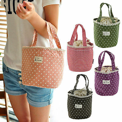 Waterproof Thermal Cooler Insulated Lunch Portable Carry Tote Picnic Storage Bag