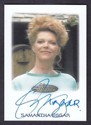 2017 Women Of Star Trek  Autograph / Auto Samantha Eggar As Marie Picard