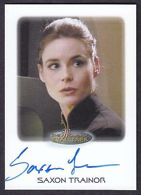 2017 Women Of Star Trek  Autograph / Auto Saxon Trainor As Lt. Linda Larson
