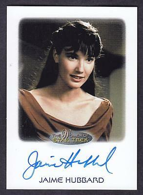 2017 Women Of Star Trek  Autograph / Auto Jaime Hubbard As Salia