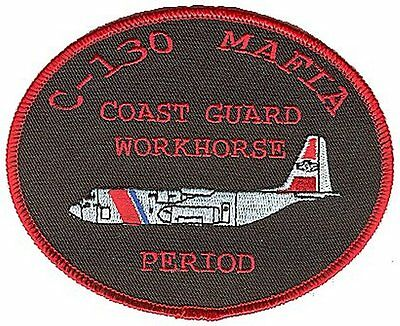 HC-130 C-130 Mafia Workhorse Period W5013 USCG Coast Guard patch