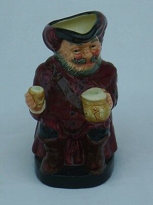 "Royal Doulton ""falstaff D6063"" Toby Character Jug ~ Perfect"
