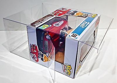 1 Box Protector For FUNKO FREDDY'S RIDES ONLY!  PLEASE READ!!  Case Pop! Vinyl