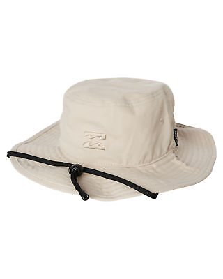 New Billabong Men's Big John Hat Cotton Grey