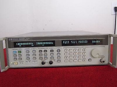 AGILENT HP 83752B .01-20 GHz SYNTHESIZED SWEEPER opt/1E1 1ED