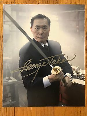 George Takei Signed Autograph 8x10 Color Photo Heroes Kaito Nakamura PROVENANCE!
