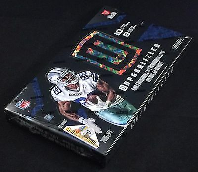 2016 Panini Unparalled Football Factory Sealed Hobby Box, 8 packs/10 cards