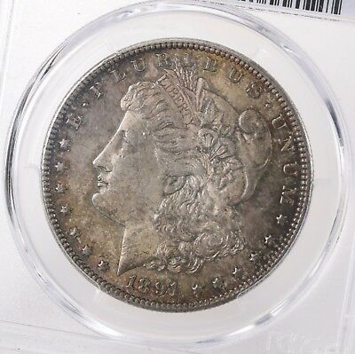 1891-CC Morgan $1 PCGS Certified MS62 62 Graded Toned Carson City Silver Dollar