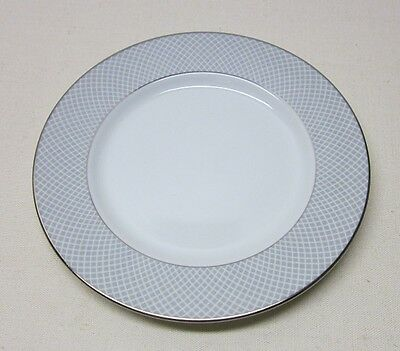 Block China     Grey Dawn       4 Bread & Butter Plates