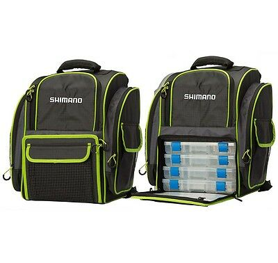 Shimano Backpack & Tackle Boxes