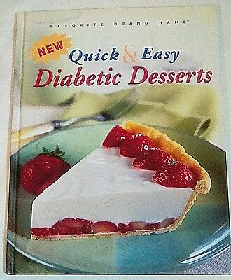 Favorite Brand Name New Quick & Easy Diabetic Desserts Cookbook Publications Int