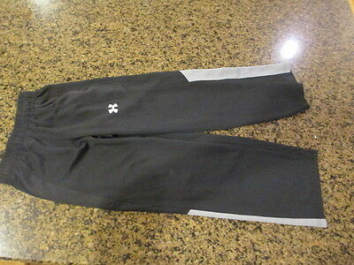 Under Armour Youth Track loose Pants boy girl workout running YSM black S Small
