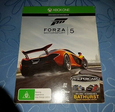 Un-Used & Sealed Xbox One Game Code - Forza 5 - Un-Used & Sealed!!!!!!