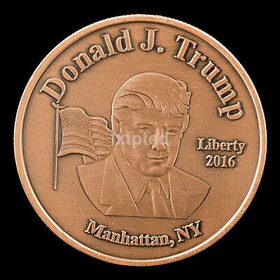 Donald Trump 45Th US President Commemorative Challenge Coin Collection Token AU~