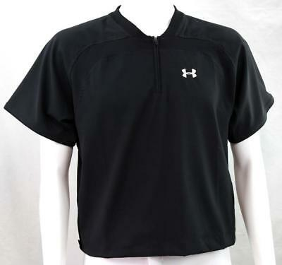 Under Armour Baseball Short Sleeve Batting Cage Jacket UA Logo, Youth Large, New