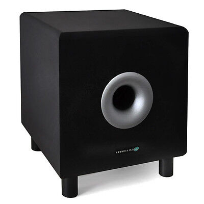 Subwoofer Actif Home Cinema Hyundai Multicav Caisson De Basses 25Cm 120W Noir