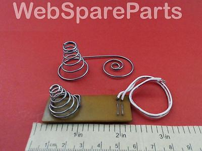 Vintage Battery Spring Contact For Philips Boombox