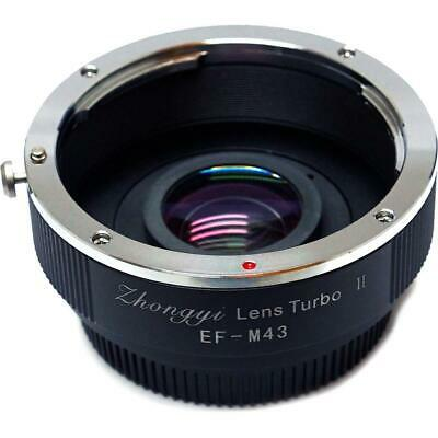Mitakon Zhongyi Lens Turbo Adapter f/Canon EF - M43 Version II (M43 / MFT)