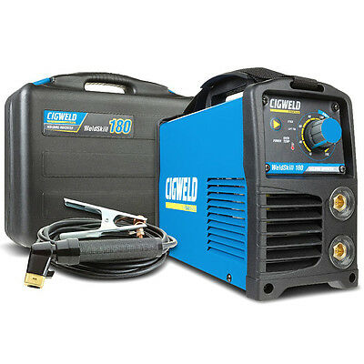 Cigweld 180A DC Stick & Lift TIG Multi Process Inverter Welder Portable Compact