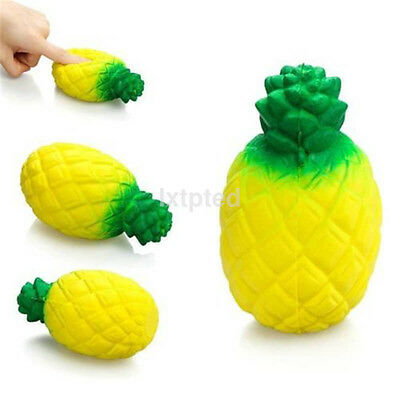 12CM Squishy Pineapple Scented Squeeze Slow Rising Fun Toy Relieve Stress Gift a