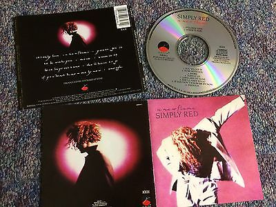 Simply Red Cd Album New Flame Usa Elektra Issue From Collection