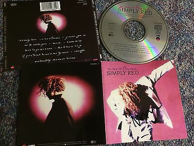 Simply Red Cd Album New Flame Uk Elektra Signed Mick Hucknall From Collection
