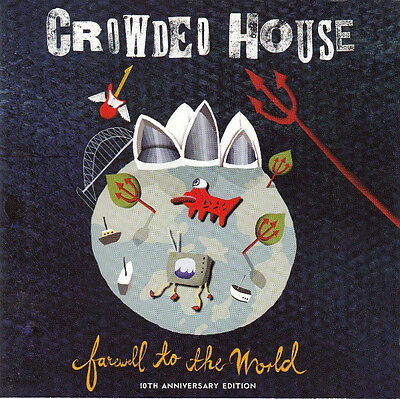 Crowded House - Farewell to the World (2006)  2CD 10th Anniversary Edition  NEW