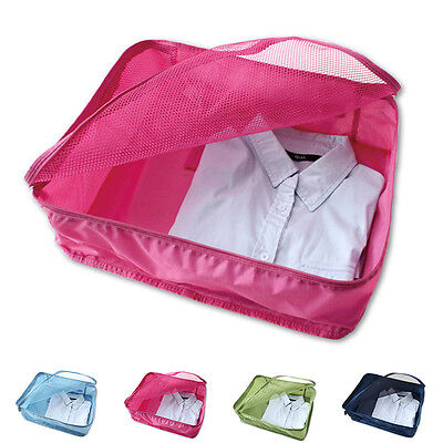 Portable Nylon Mesh Underwear Pouch Bag Organizer Travel Storage Box Bags