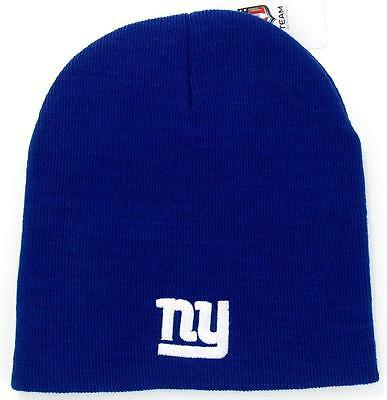 65be4be5114860 NEW YORK GIANTS Knit Beanie Winter Hat Toque Skull Cap NEW Blue Very ...