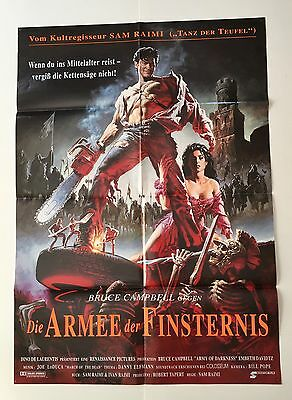 Army Of Darkness Double Sided Movie Poster • CAD $30.00 ...